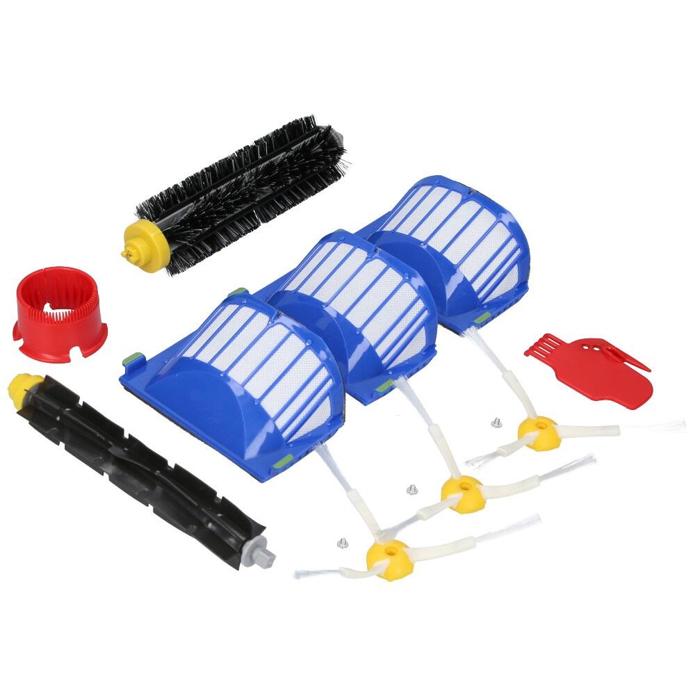 10teilig Ersatzteile Filter Seitenbürste für iRobot Roomba 600 Serie 605 615 616
