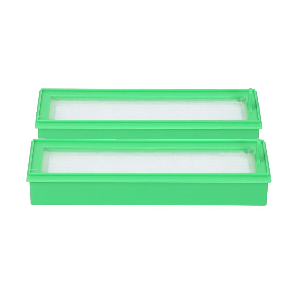Hepa Filter mit ohne Seitenbürste Bürste geeignet  Vorwerk Kobold VR 200 300