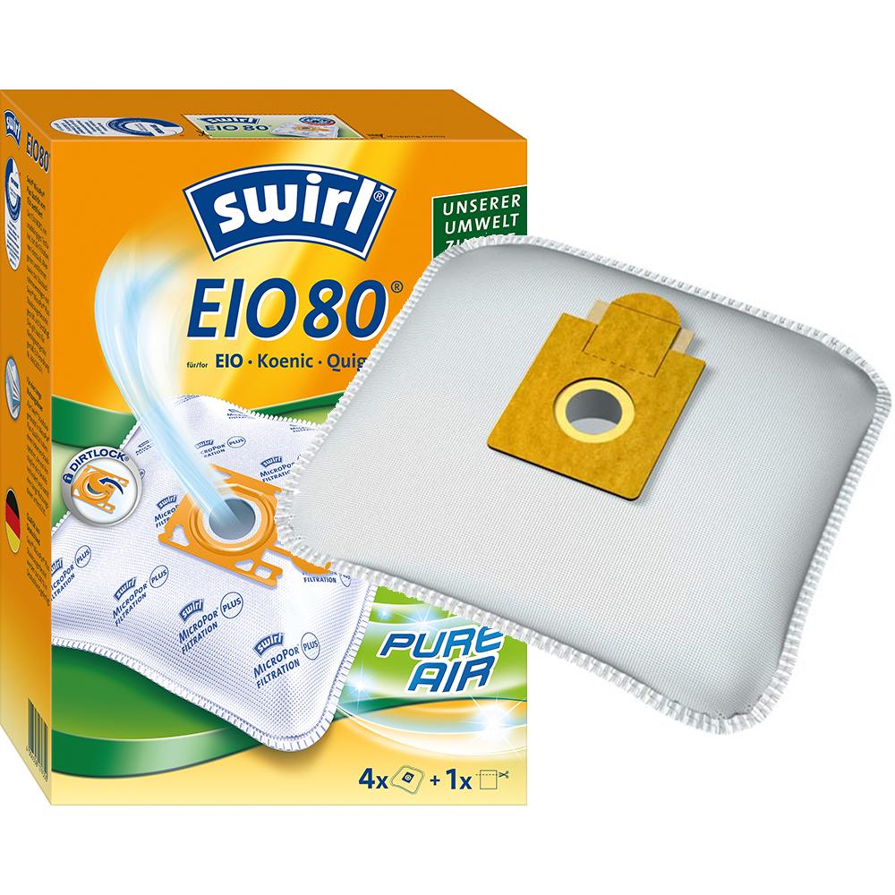 Staubsaugerbeutel Eio 80 : original swirl staubsaugerbeutel eio80 eio 80 oder staubbeutel vlies eigenmarke ebay ~ Buech-reservation.com Haus und Dekorationen