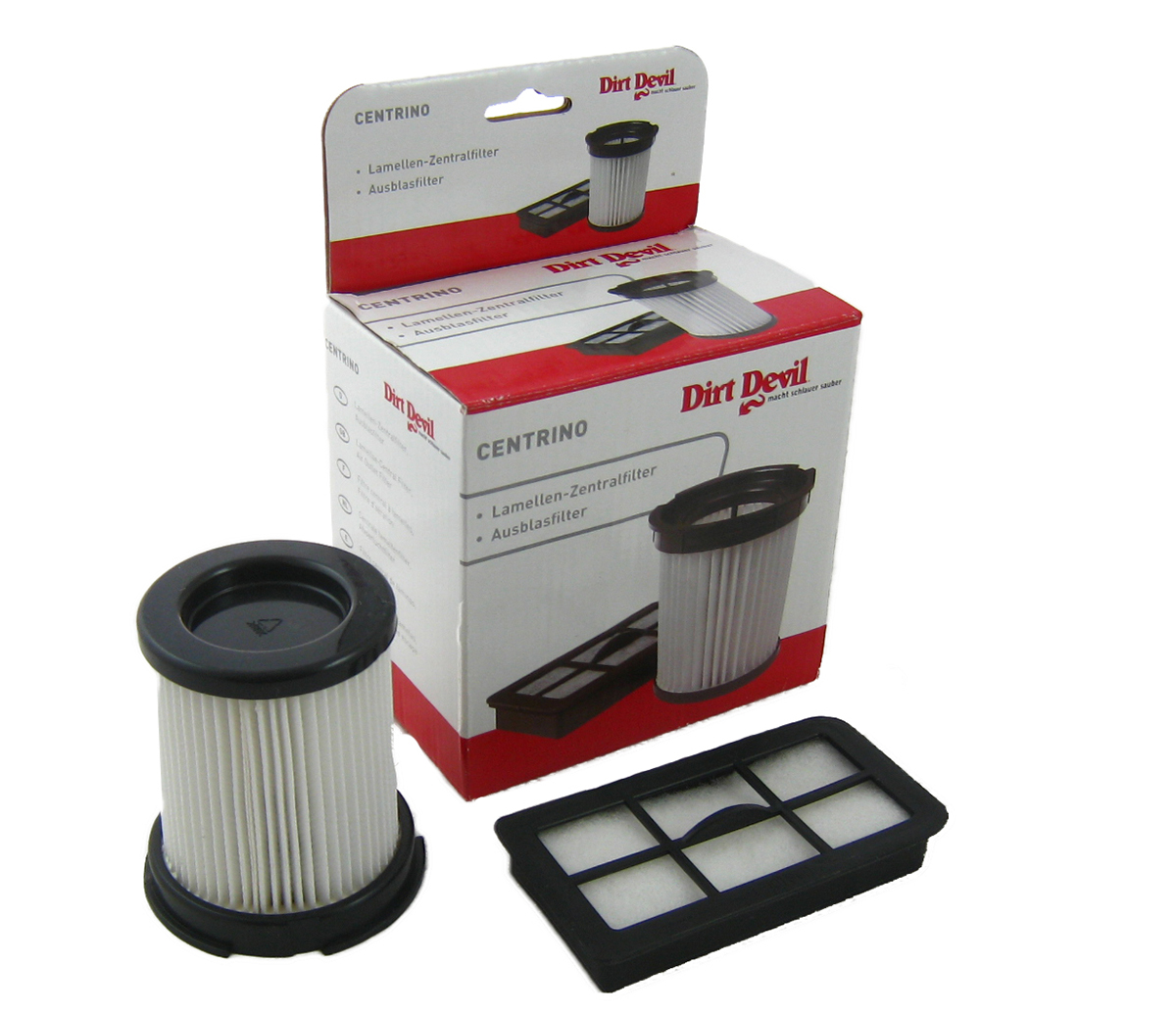 dirt devil filterset filter 1884001 f r centrino m 1884 ebay. Black Bedroom Furniture Sets. Home Design Ideas